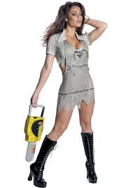 miss leatherface costume the texas chainsaw massacre escapade uk