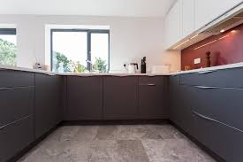 matt quartz grey and white nolte kitchen with top mounted handles design supply and installation of quality kitchens our ranges are nolte kitchens and 1909 kitchens