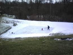 backyard ice rink flooding backyard and yard design for village