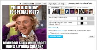 Creating A Meme - how to find a birthday meme for a friend