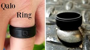 qalo wedding bands qalo ring review silicone wedding ring for active men or