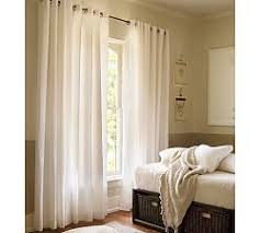 How To Hang Pottery Barn Curtains Cotton Curtains U0026 Cotton Drapes Pottery Barn