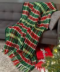plaid christmas plaid christmas blanket heart