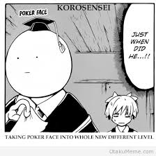 Poker Face Memes - otaku meme 盪 anime and cosplay memes 盪 i show this face every