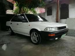 toyota corolla ae90 corolla smallbody ae90 mt white