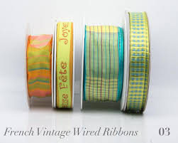 wired ribbon wholesale buy ribbons wired satin stripe trim order now renaissance ribbons