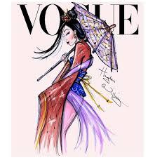disney princess vogue cover models