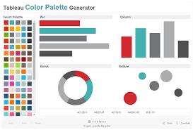 color combo generator tableau color palettes data ink com