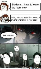 Memes About Death - death note kira memes anime memes