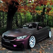 bmw f82 m4 matte purple