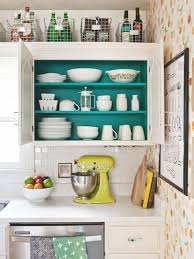 Ideas For Refacing Kitchen Cabinets by 10 Ideas For Decorating Above Kitchen Cabinets Hgtv