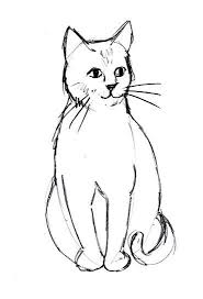 best 25 simple cat drawing ideas on pinterest simple animal