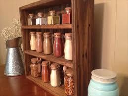 Vintage Wooden Spice Rack Diy Pallet Wood Kitchen Spice Rack Wooden Pallet Furniture