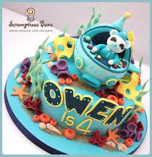 octonauts birthday cake octonauts birthday cake 8 chocolate fudge cake layered wi flickr
