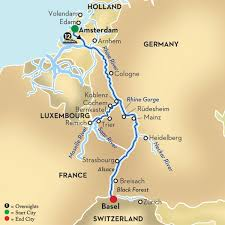 moselle moselle and moselle cruise from amsterdam to basel