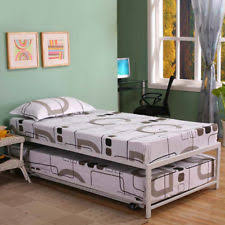 pop up trundle beds u0026 bed frames ebay