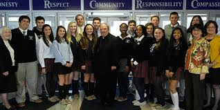 archbishop bernard hebda blesses union catholic thanksgiving