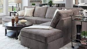 Gray Microfiber Sectional Sofa by Free Living Rooms Gray Sectional Couch Youll Love Wayfair