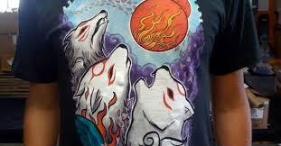 Three Wolf Moon Shirt Meme - awesome three wolf moon shirt gets okami fied three wolf moon