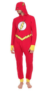 dc comics barry allen the flash hooded one pajama