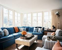 Best Living Room Decor Brown Blue And White Palette Images - Blue living room chairs