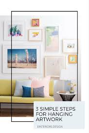 How To Hang Prints 19 Best How To Display U0026 Hang Artwork Images On Pinterest Home