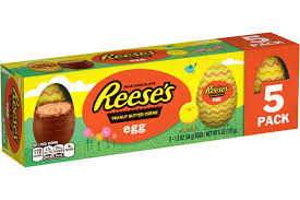peanut butter eggs for easter reese s easter 2017 popsugar food