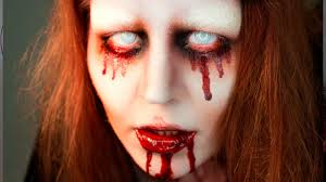 Bloody Mary Halloween Makeup Tutorial Youtube