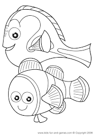 nemo coloring sheets