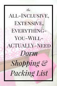 College Toiletries Checklist 166 Best Packing For College Images On Pinterest College Packing