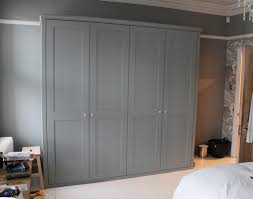 fitted wardrobe with shaker doors decor pinterest fitted