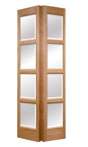 Interior Doors For Small Spaces Glass Panel Bi Fold Doors Custom Panel Bifold Glazed Custom