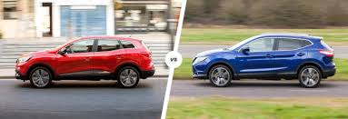 nissan renault renault kadjar vs nissan qashqai u2013 which is best carwow