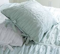 Pottery Barn Alessandra Duvet Hadley Ruched Sham Standard White Hadley Duvet And Bedrooms