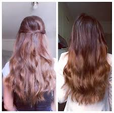 Wedding Hair Extensions Before And After by Before U0026 After U2013 Cashmere Hair Clip In Extensions