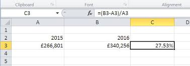 how to calculate percentages in excel tech advisor