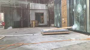 impact resistant sliding glass doors impact resistant door large missile testing lateral view youtube