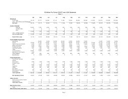 Income Statement Excel Template Free by Balance Sheet Template Profit And Loss Statement Template Profit