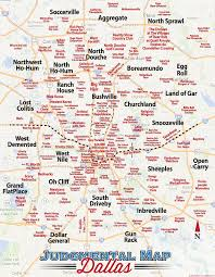 Ft Worth Map Dallas Judgmental Map