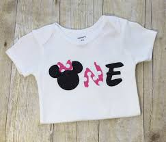 1st birthday bib custom order hot pink polka dot black two minnie birthday