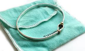 tiffany bracelet review images Vintage tiffany co hook eye bracelet in sterling silver 18k jpg