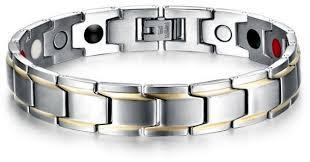 health bracelet titanium images Titanium steel health bracelet unique style magnetic men hand ring jpg
