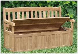 outdoor storage bins storage bench with cushions and storage bins