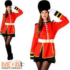 royal busby guard ladies fancy dress national british uniform