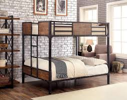 Wood And Metal Bunk Beds South Bank Wood And Metal Bunk Bed Bed Ideas