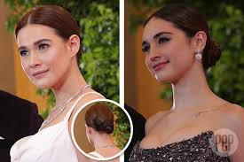 hair styles for the ball the hairstyles that trended at the star magic ball 2017 red carpet