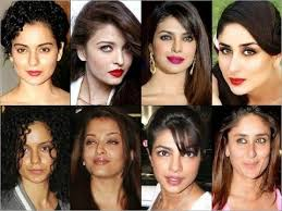 top bollywood actresses how horrible really looks like without makeup 2016