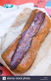 glazed u0026 infused maple bacon long john donut in wicker park august