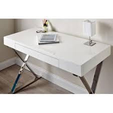 bureau laqué blanc design bureau laqué blanc design bureau bois et métal eyebuy