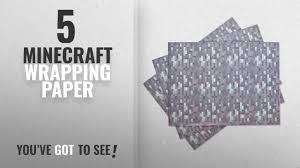 minecraft wrapping paper top 10 minecraft wrapping paper 2018 jinx minecraft diamond